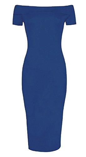 Funky Fashion Shop - Falda - para mujer azul marino