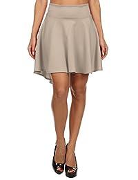 Pastel by Vivienne Women's Hi-Lo Flare Skirt