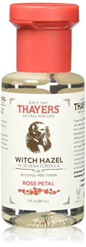 - Thayers Alcohol-free Rose Petal Witch Hazel with Aloe Vera 1 Count,3 Fl oz