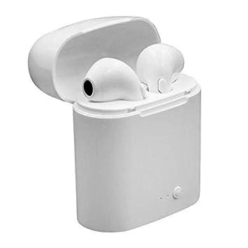 TWS i7S - Auriculares inalámbricos con Bluetooth para iPhone, iPad y la mayoría de Smartphones