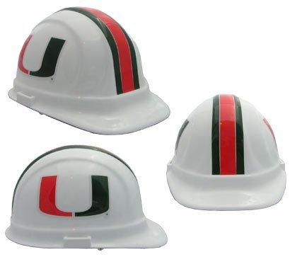 Miami Hurricanes Ncaa Hard Hat - 1