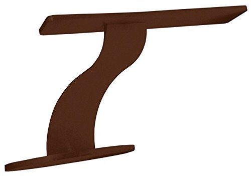 Oro Counter Mounted Steel Support - Made In America (6'', Bronze) - FINAL SALE