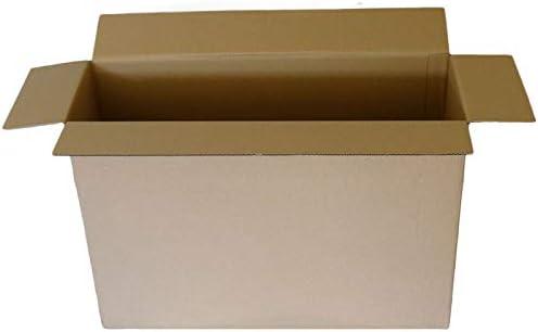 5 10 20 40 cajas grandes de cartón resistentes para casa postal, de varios tamaños, cajas de cartón, color 50,8 x 50,8 x 40,6 cm.: Amazon.es: Oficina y papelería