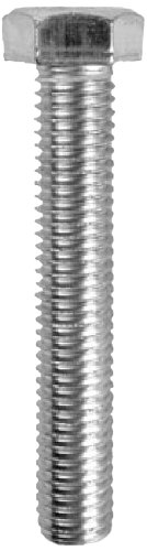 100-Pack 7//16-Inch Hex Dottie MB141 Tap Bolt L.H 1//4-Inch-20 TPI by 1-Inch Length Hex Head Zinc Plated