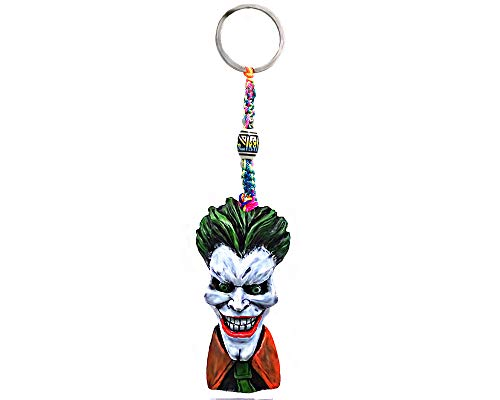 Big Head Evil Clown Horror Handpainted Figurine Dangle