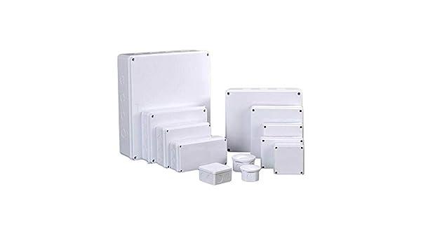 TOOLSTAR Caja de derivaciones, IP55 ABS, caja de plástico para ...