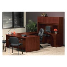 Wholesale CASE of 2 - Basyx Laminate Desk Ensembles-Rectangular Desk Shell,66