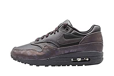 Nike Womens Air Max 1 LX Running Trainers 917691 Sneakers Shoes (UK 4.5 US 7 EU 38, Oil Grey 001) 001