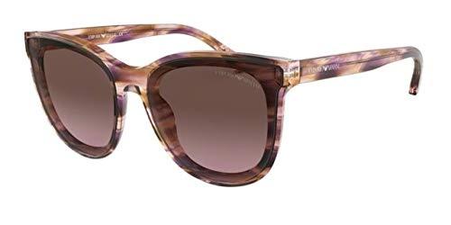 Emporio Armani 0EA4125, Gafas de sol para Mujer, Plum Water ...