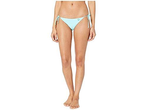 Iris Mist - Body Glove Women's Smoothies Iris Solid Tie Side Bikini Bottom Swimsuit, Sea Mist, X-Small