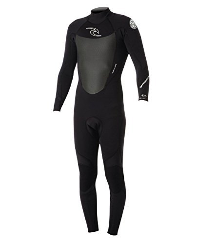 Rip Curl Dawn Patrol C/Zip 43Gb St Surfing Wetsuit, Black, Large/Tall by Rip Curl (Image #1)