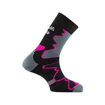07d0198a4974d Thyo - Mi-chaussettes Double-Trek pour randonnée Made in France - couleur -