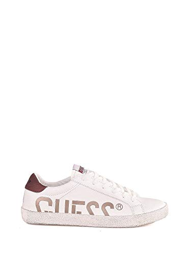 Zapatos Guess 45 Fmryn4 Blanco Hombre Ele12 BwREanqA