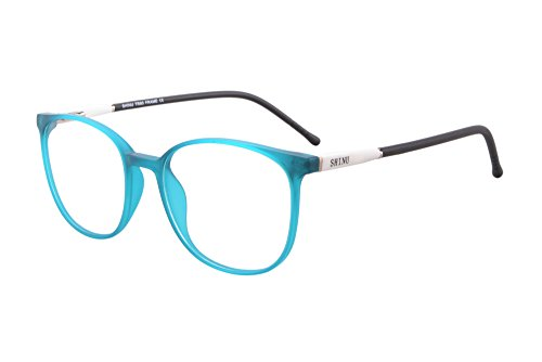 (SHINU TR90 Lightweight Frame Progressive Multifocus Reading Glasses-SH079(blue, up 1.00 down 3.00))