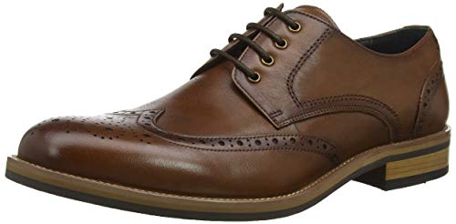 Packman Scarpe Bertie Tan Leather Tan Leather Marrone Brouge Uomo Stringate dR55q