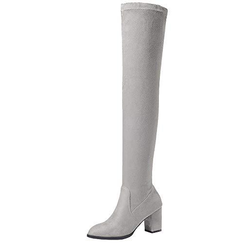Melady Women Fashion Thight On High Boots Pull On Thight B07JVQ549L Shoes f0cd14