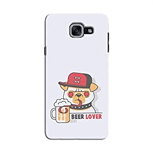 Cover It Up - Beer Dog Galaxy J7 Max Hard Case