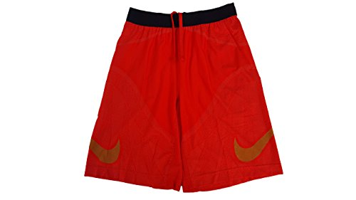 Nike Men's Flyknit Football Shorts (Small, University Red (657) / - Nike Gold Shorts Training