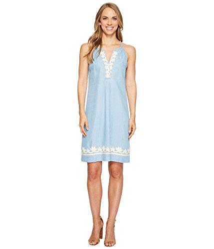 花輪招待セール[トミー バハマ] Tommy Bahama レディース Chambray Short Halter Dress ドレス Light Storm Wash MD (US 8-10) [並行輸入品]