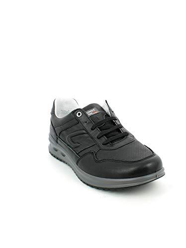 Nera Bassa Pelle In Grisport sneaker Xw5IqX6a