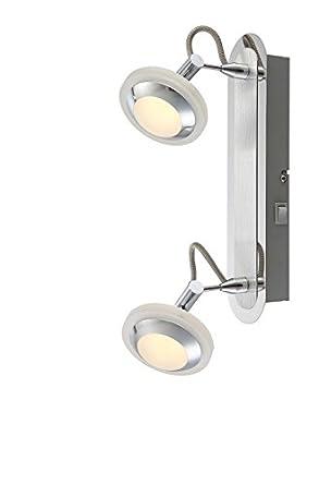 Pared Techo Foco Luces Con De Lámpara Interruptor2 Led 3L5Aj4R