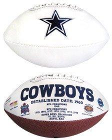 Dallas Cowboys Football - Dallas Cowboys Signature Series Football