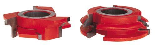 Freud UP263 Classical Profile Shaper Cutter Set For 3/4-Inch Rail And Stile Doors, 1-1/4 Bore