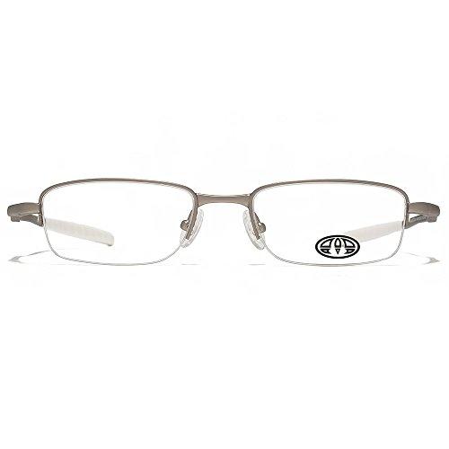 Animal Harington lunettes de demi jante ovale en argent ANIS010-SIL clear