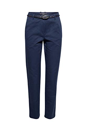 Azul Mujer Esprit 400 Pantalones navy Collection Para ZqqfWPI