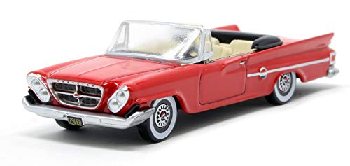 Chrysler 1961 300 Convertible Mardi Gras Red 1/87 (HO) Scale Diecast Model Car by Oxford Diecast 87CC61001