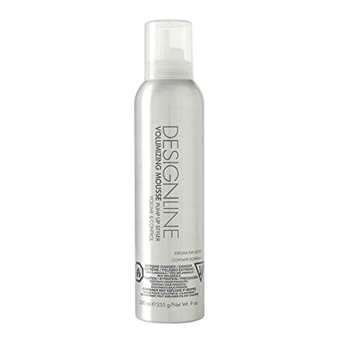 Volumizing Mousse Pump Up Styler - Regis DESIGNLINE - Provides All Day Ultra Firm Hold (1 Pack)