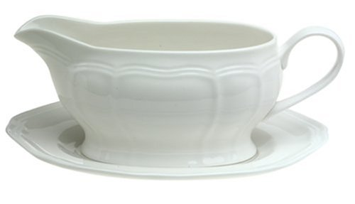 Mikasa Antique White Gravy Boat, 16-Ounce