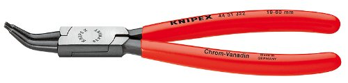 - Knipex 4431J12 Internal 45 Degree Angled Retaining Ring Pliers 5.2-Inch