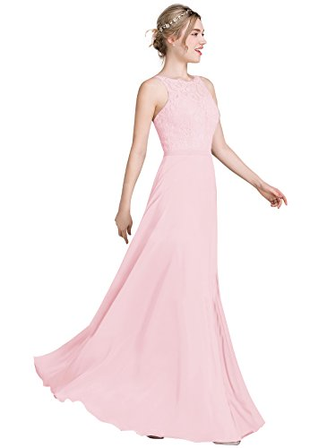 candy pink prom dresses - 5