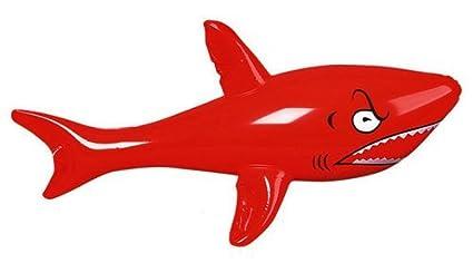 Amazon.com: Tiburón hinchable – Blow Up Toy – 46 inches ...