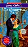 Miss Henderson's Secret, June Calvin, 0451182855