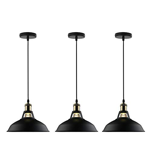 Black And Brass Pendant Light in US - 6