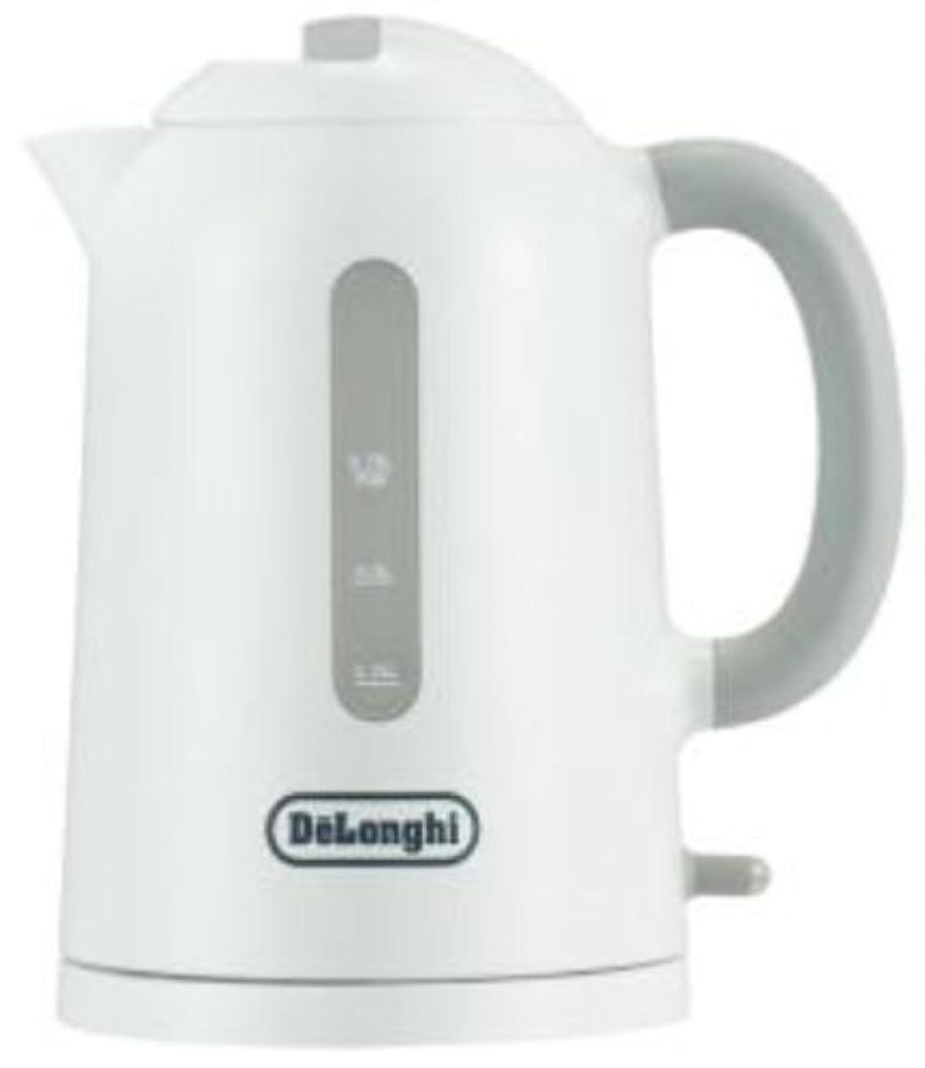 [해외] DELONGHI 【TRUE】 전기 주전자(케틀.kettle) 0.75L 화이트 JKP240J