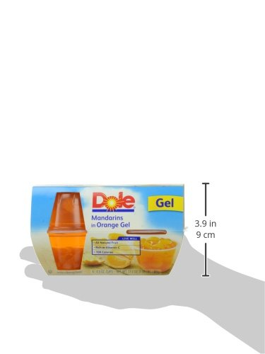 Dole Fruit Bowls, Mandarins in Orange Gel, 4 Cups by Dole Fruit (Image #9)