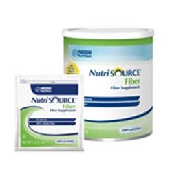 NutriSOURCE Fiber Supplement - 7.2 oz Canisters (powder) - Case of 4 - NES97551SND282100