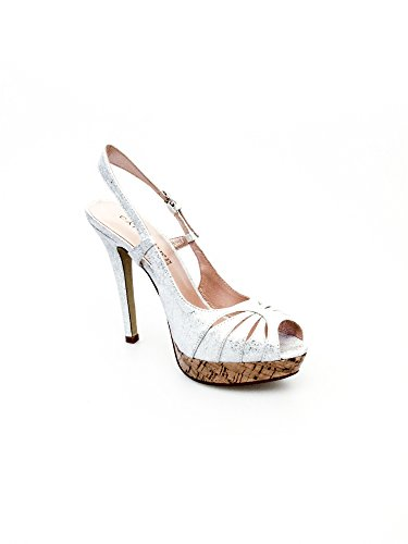 Cafenoir Mujer sandalias y zapatos abiertos Plata
