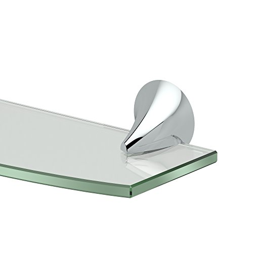 (Gatco 5106 Brie Bathroom 8mm Tempered Glass Shelf, 20.13