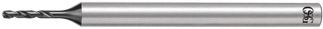 140 Drill Bit Point Angle 0.0972 Decimal Equivalent Solid Carbide Micro Drill Bit 2.47mm