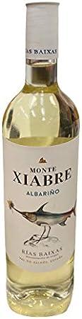 MONTE XIABRE vino blanco albariño DO Rias Baixas botella 75 cl