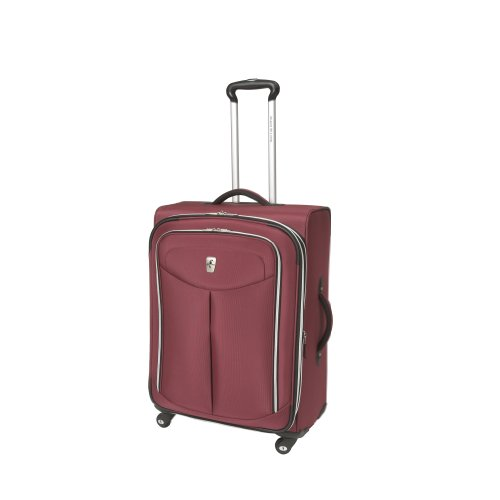 Atlantic Luggage Ultra Lite 2 25 Inches Expandable Spinner, Magenta, One ()