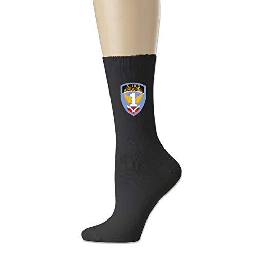 Tube Allied (1st Allied Airborne Fashion Men's Pack Crew Socks Tube Stockings Athletic Socks)