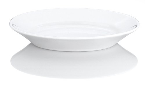 Pillivuyt 10-1/4-Inch by 7-Inch Deep Oval Porcelain Serving (Deep Platter)
