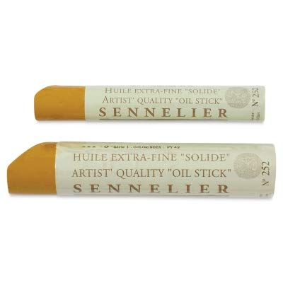 - Sennelier Oil Painting Stick Used For Sketching And Other Artwork Oil Paint Sticks - Medium Sized - Single Paint Stick - [Cadmium Orange]