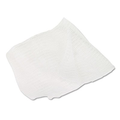 Caring Woven Gauze Sponges, 4 x 4, Non-sterile, 8-Ply, 200/Pack, Sold as 200 Each