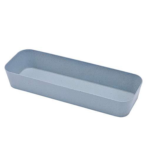 Miscellaneous Sorting Storage Box Drawer Kitchen Cutlery Divider Case Makeup Storage Box Home Organizer (B)